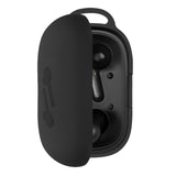 Geekria Silicone Case for Anker Soundcore Life P2 True Wireless Earbuds, Protective Case, With Keychain Soft Slim, 2019 Soundcore Life P2 Wireless Earbuds Silicone Case (Black)