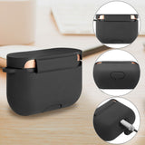 Geekria Silicone Case for Sony WF-1000XM3, WF1000XM3 S, WF1000XM3 B Truly Wireless Noise Canceling Earphone, Earbud Protection Pouch Cover with Keychain, LED Visible