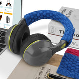 Geekria Sweater Headphones Headband Cover For Bose QC35, Sony WH-1000XM4, Beats Studio 3.0, Replacement Headband Cover / Sweater Comfort Cushion / Top Pad Protector Sleeve (Red+Blue)
