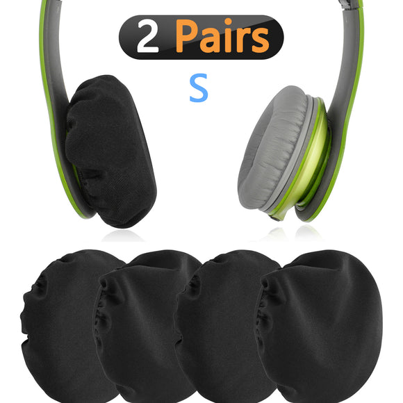 Geekria Flex Fabric Headphone Earpad Covers / Stretchable and Washable Sanitary Earcup Protectors. Fits 1