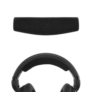 Geekria Headband Pad Replacement for Sennheiser HD515 HD518 HD555 HD558 HD595 HD598CS Headphones / Cushion Pad Repair Parts / Repair Parts Headphones Headband (Black)