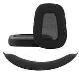 Geekria Earpads Replacement for Logitech G633 G933 Headphones + Replacement Headband / Ear Pads Cushions /Earpad and Headband protective sleeve/Cushion Pad Repair Parts (Black)