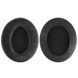 Geekria QuickFit Protein Leather Ear Pads for Sennheiser HD202, HD202S, HD212, HD437, HD447, PX360 Headphones, Replacement Ear Cushion / Ear Cups / Ear Cover, Headset Earpads Repair Parts (Black)