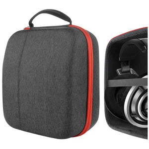 Geekria UltraShell Headphone Case for Beyerdynamic DT1990 pro, DT1770 pro, DT-790, DT880, DT990, Sennheiser HD820, HD800 S, HD700, HD650 Full Size Hard Shell Large Carrying Case, Headset Travel Bag