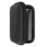 Geekria Hardshell Case for JBL Under Armour Flash In-Ear Headphones, JBL UA Flash Wireless Earbuds Case With Space for Charging Cord and Parts (Black)