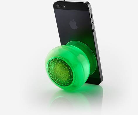 QDOS QBOPZ Candy Green Bluetooth speaker