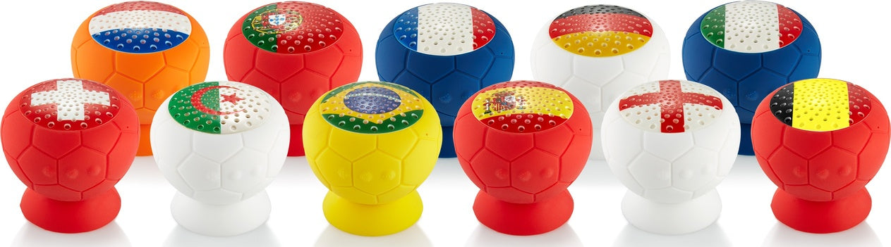 QDOS Q-BOPZ® Football Bluetooth speaker collection