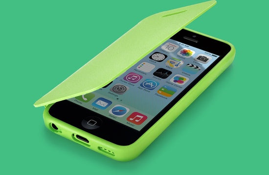 QDOS TexFolio Green iPhone case
