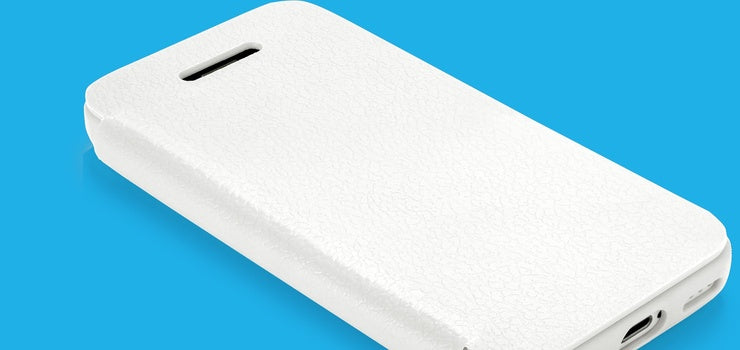 QDOs TexFolio White iPhone case