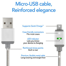PowerSteel Micro-USB Cable