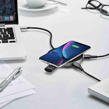 PowerLink Air 6-in-1 USB-C Hub with Qi wireless charger