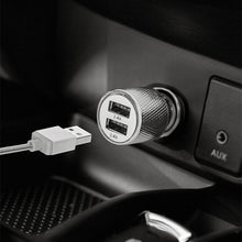PowerSteel Dual Port Car Charger