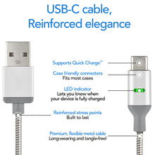 PowerSteel USB-C Cable