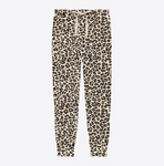 Mom and Me Outfits Posh Peanut Lana Leopard Tan Women's Loungewear