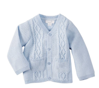 Boys Blue Cardigan