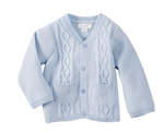 Mud Pie Blue Cardigan