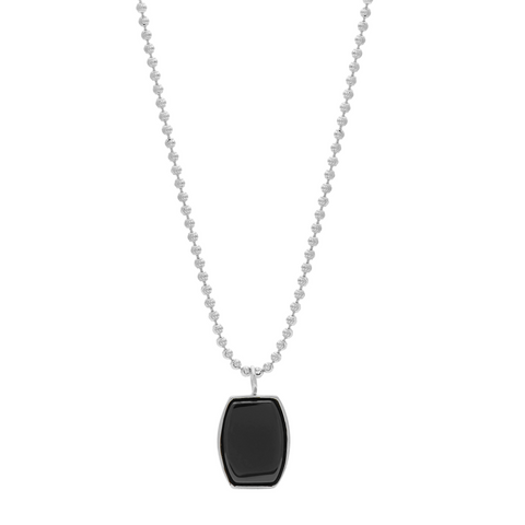 Archie Necklace - Black Onyx