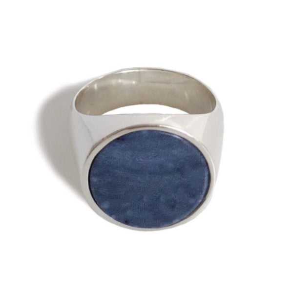 Everett Ring - Spongy Blue Coral