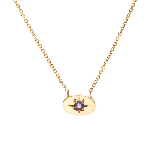 Nara Necklace - Amethyst