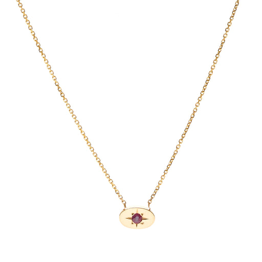 Nara Necklace - Ruby