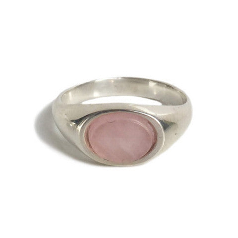 ARTIE RING - ROSE QUARTZ