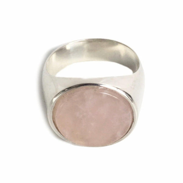 Everett Ring - Rose Quartz