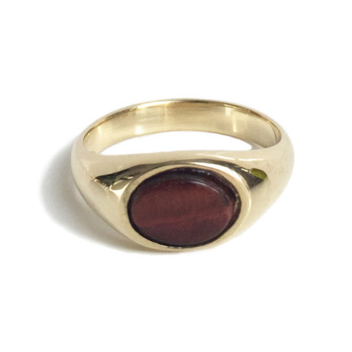 Artie Ring - Burnt Tiger's Eye