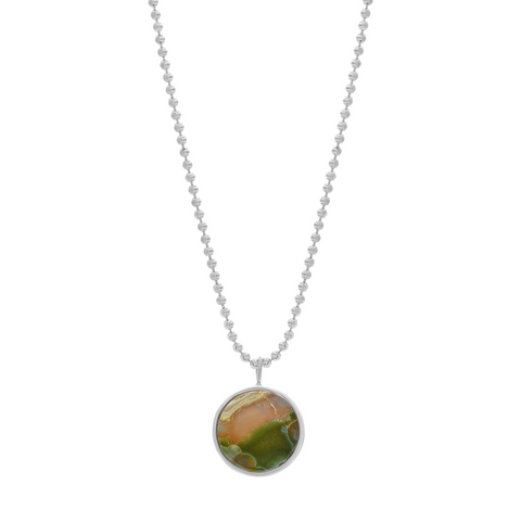 EVERETT NECKLACE - OCEAN JASPER