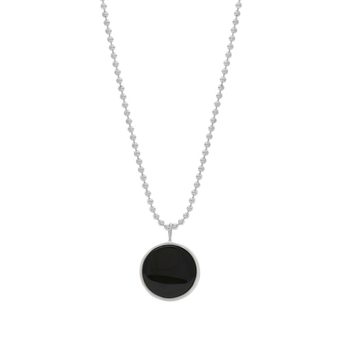 EVERETT NECKLACE - BLACK ONYX