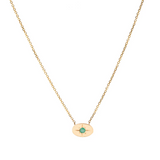 Nara Necklace - Emerald