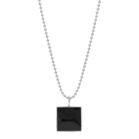 Samuel Necklace - Black Onyx