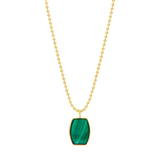 Archie Necklace - Malachite