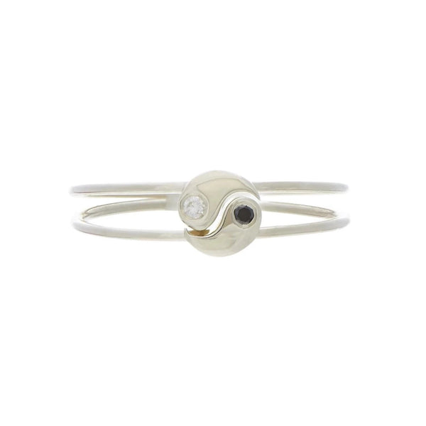 Yin Yang Best Friend Ring