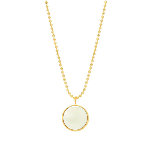 Everett Necklace - White Mother of Pearl