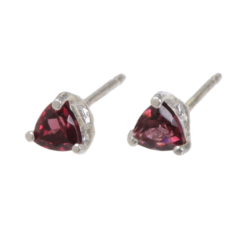 TYLER GARNET EARRINGS