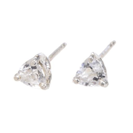 Tyler Earrings - White Topaz