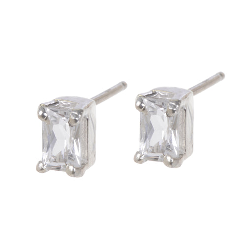 Kennedy Earrings - White Topaz