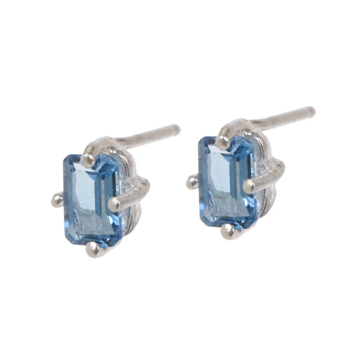 Jordan Earrings - London Blue Topaz