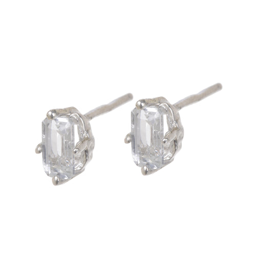 Jordan Earrings - White Topaz