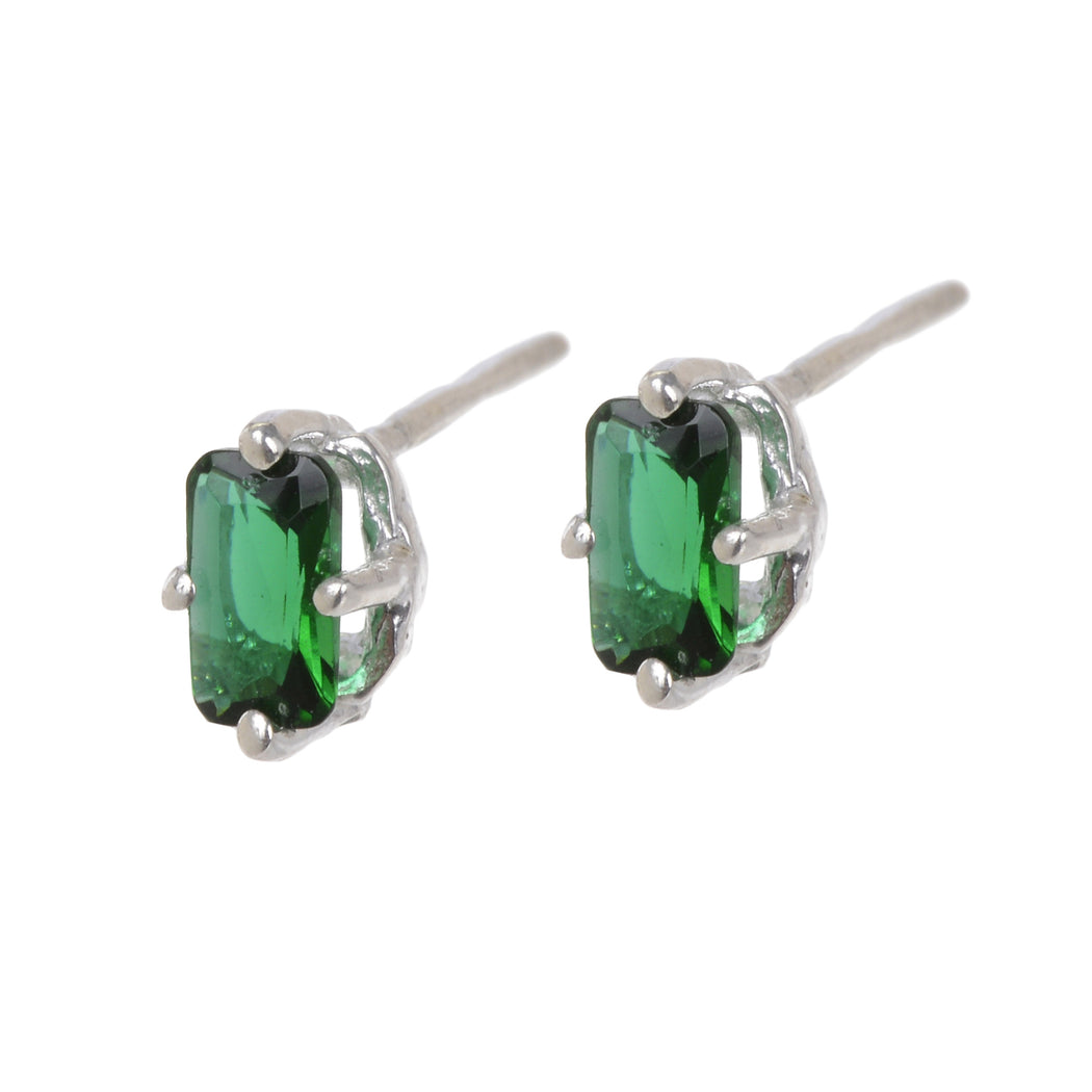 Jordan Earrings - Green Quartz