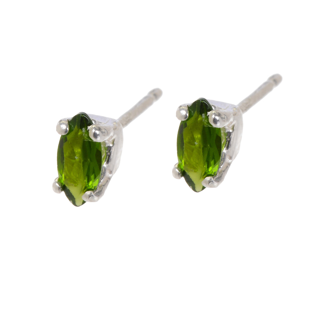 Reagan Earrings - Chrome Diopside