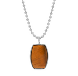 ARCHIE NECKLACE - TIGER EYE