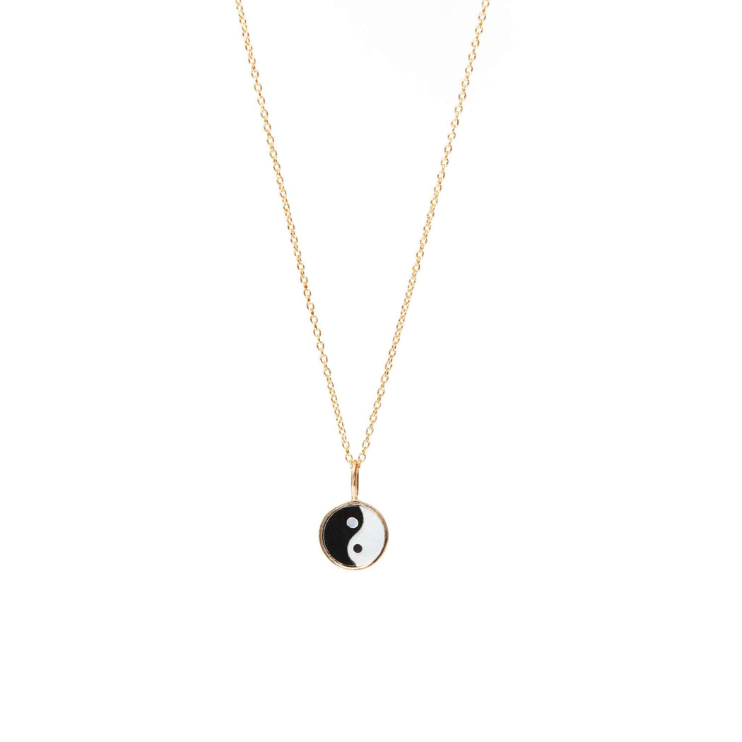 Yin Yang Mini Necklace