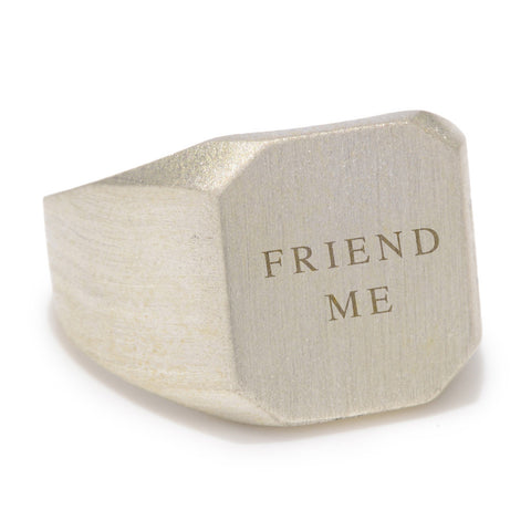 Friend Me Ring
