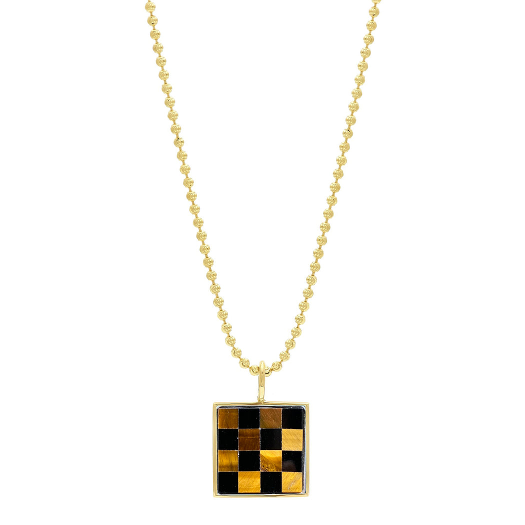 Samuel Necklace - Checkered