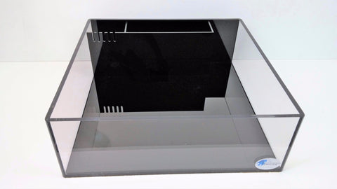 "REF#: AIO101 - 1/2"" Thick Rimless All-In-One Frag Tank (4 various sizes available)"
