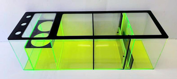 REF#: S128 - Neon Green/Black/Clear Sump