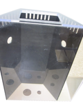 REF#: T107 - Peninsula Style Aquarium w/ Trapezoid Overflow Box (6 sizes available)