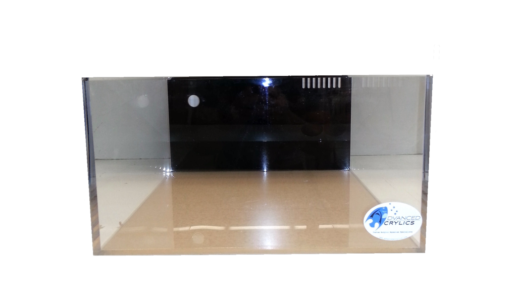 "REF #: AIO104 18x20x12 -  Rimless All in One 1/2"" Thick acrylic (3 Various Sizes)"