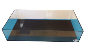 "REF#: FT130 48x24x8 1/2"" Thick Rimless, Bare Frag tank w/ no Overflow Box or Holes (6 Sizes)"